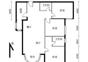 三环新城全南向3居室 180度无遮挡 低价出售