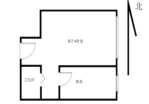 新景家园商品房 小户型 正对花园 满五 业主在京无二套